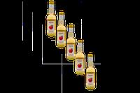 5er Pack Kronprinz Apfelsaft gespritzt