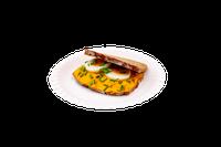 Liptauerroggenbrot mit Ei und Schnittlauch