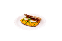 Liptauerdinkelbrot mit Ei und Schnittlauch