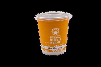 Knabberkerne Weiße Schoko Orange