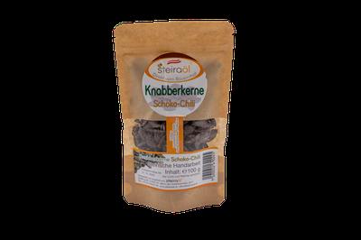 Knabberkerne Schoko-Chili