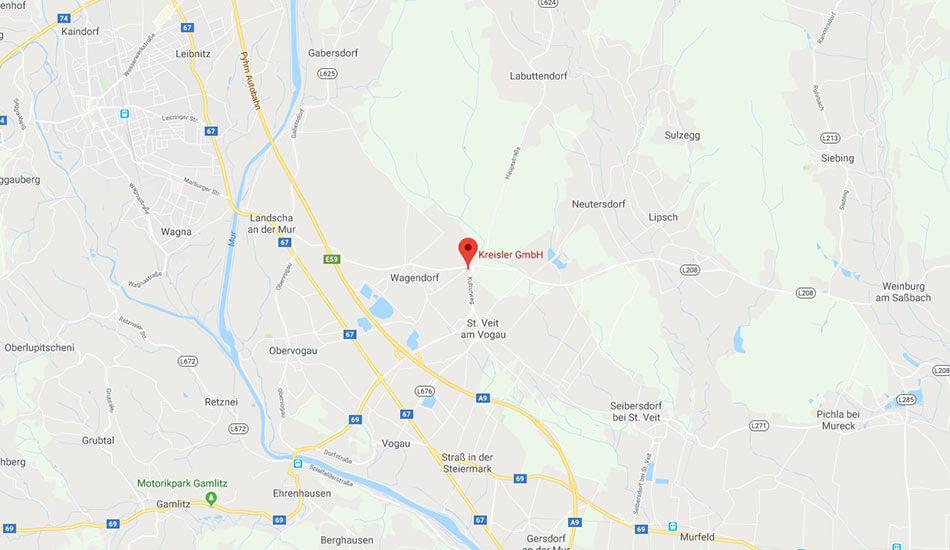 Kreisler GmbH auf Google Maps
